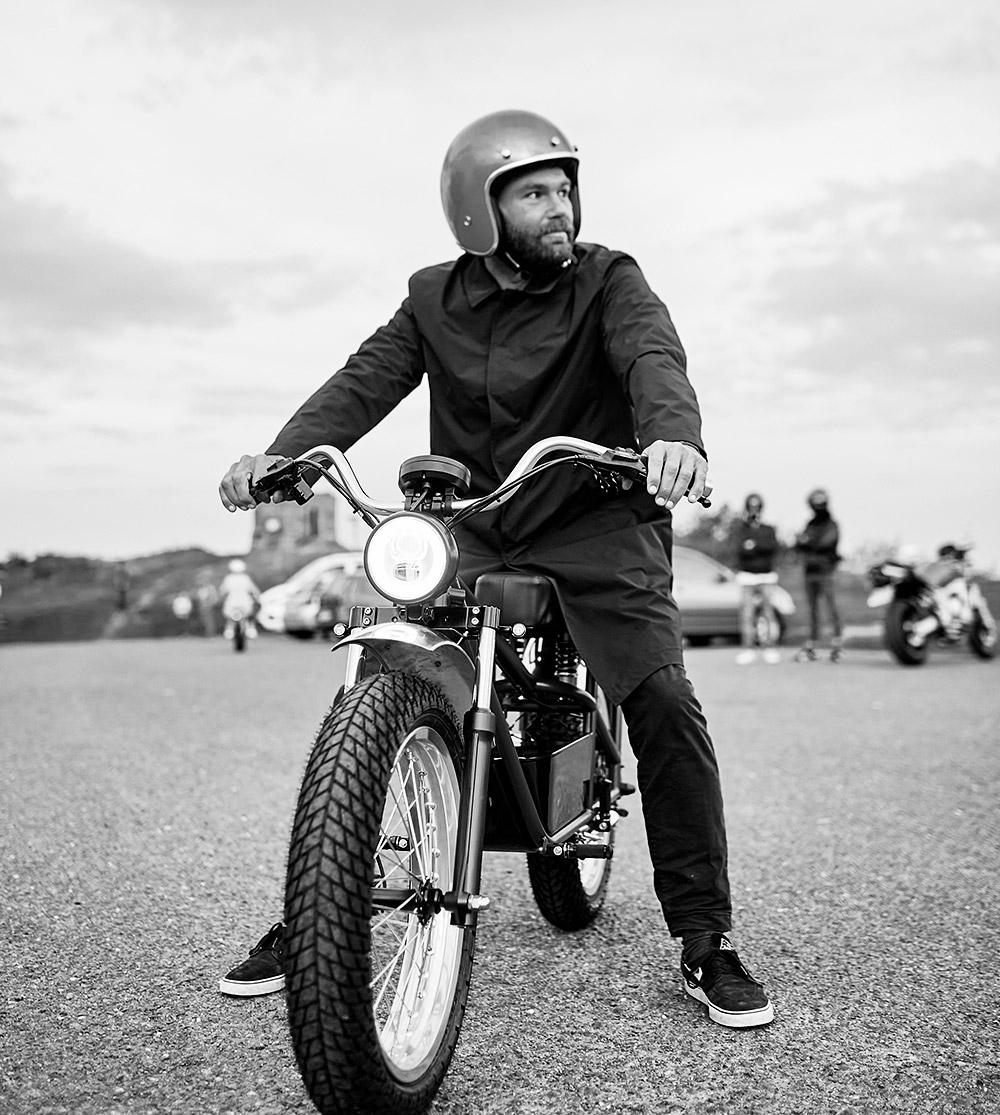 Lifestyle moto électrique Xubaka