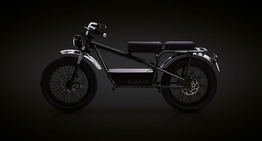 Moto électrique Xubaka noir