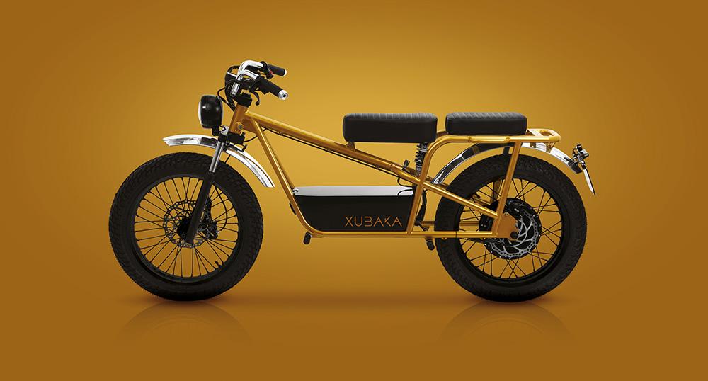 Moto électrique Xubaka or